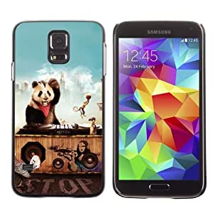 Designer Depo Hard Protection Case for Samsung Galaxy S5 / Animals Party