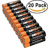 28 Pack AA Batteries [Ultra Power] Premium LR6 Alkaline Battery 1.5 Volt Non Rechargeable Batteries for Watches Clocks Remotes Games Controllers Toys & Electronic Devices - 2020 Expiry Date