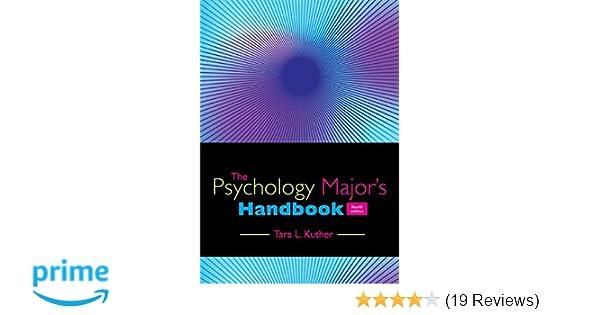 Amazon com: The Psychology Major's Handbook (9781305118430): Tara L