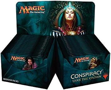 Magic The Gathering 14201 conspiración Tomar la Corona Booster ...