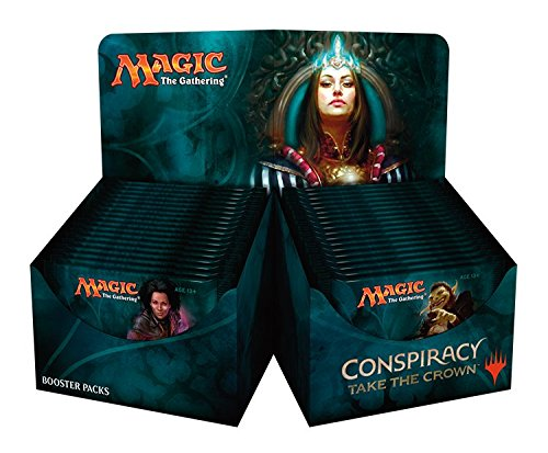 MTG Magic the Gathering Conspiracy Take the Crown Booster Box Draft Box