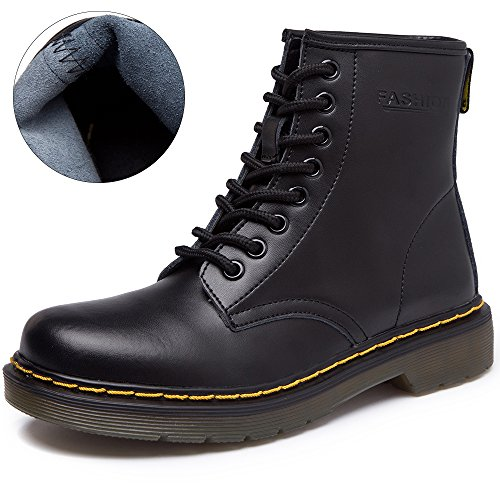 JACKSHIBO Womens Fashion Leather Bootie product image