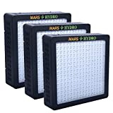 [Pack of 3]MarsHydro MARSII 1200 ETL Certificate Led Grow Light Full Spectrum High Penentration Led Grow Lamp the 552W True Watt Panel Light & Lighting With Dual Veg/Flower Spectrum