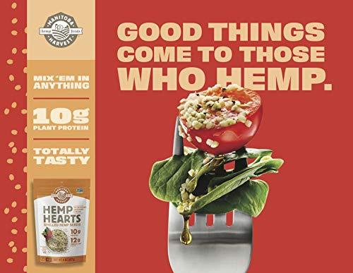 Manitoba Harvest Hemp Hearts Shelled Hemp Seeds, 16oz; 10g Plant-Based Protein & 12g Omegas per Serving, Whole 30 Approved, Vegan, Keto, Paleo, Non-GMO, Gluten Free 7