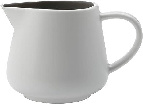 Maxwell /& Williams White Basics Jarra de leche con asa Porcelana