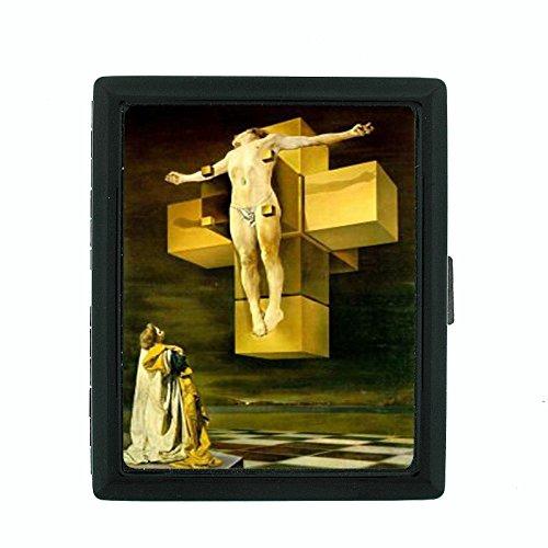 Salvador Dali Crucifixion Body Cigarette Case - Dali Salvador Case Cigarette
