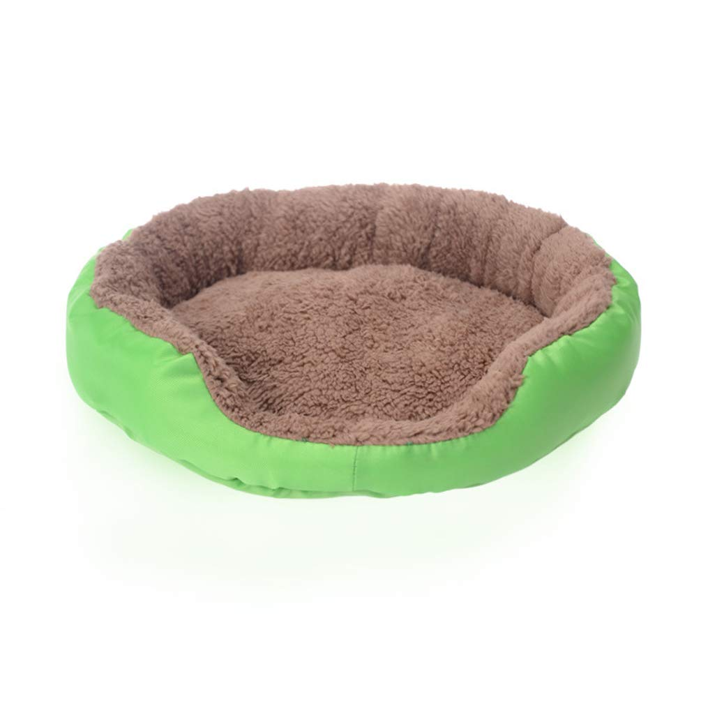 GREEN SHUIFEI Pet Nest Kennel Sofa Bed Cat Litter Suitable for Autumn and Winter Cat Litter Comfortable And Warm Soft Removable and Washable Brado Teddy for Pet Rest and Sleeping
