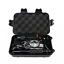 Candora 10 in 1 Professional Survival Kit Emergency SOS Tool Outdoor Travel Hike Field Camp Emergency Kits for Camping Hiking Hunting Biking Climbing Traveling and Emergency