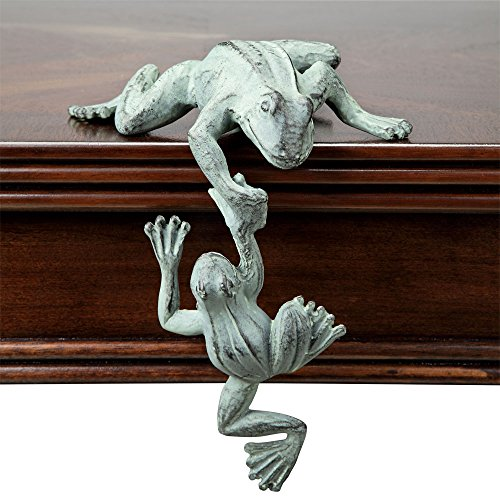 Frog Shelf Sitter (Helping Hand Frogs Figurine Shelf Sitter from SPI by SPI-HOME)