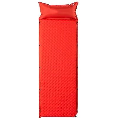 HPLL Lit gonflable automatique extérieur Lit gonflable épais simple Lit de camping gonflable Tapis d'humidité Lit gonflable pliable (Couleur : A)