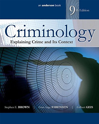 Criminology:Explaining Crime... (Pb)