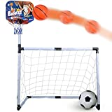 Webby 2 in 1 Football and Basketball - Easy Assembly