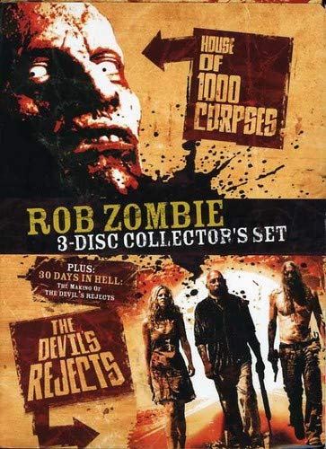 Rob Zombie 3-Disc Collector's Set: House of 1000 Corpses / The Devil's Rejects / 30 Days in Hell: The Making of The Devil's Rejects]()