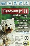 K9 Advantix II, Medium Dogs, 11 ro 20-Pound, 6-Month