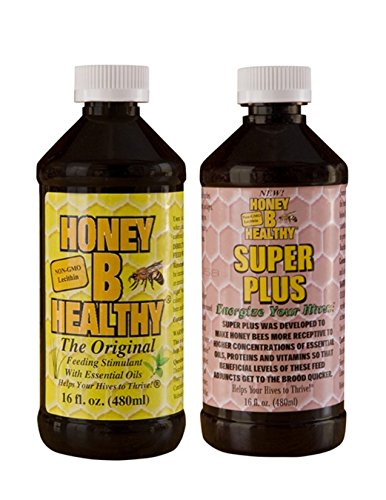 (Honey B Healthy Original & Honey B Healthy Super Plus 2-16oz Bottle Kit )