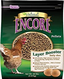 F.M. Brown\'s Encore Natural Egg Layer Booster Daily Diet for Pets, 20-Pound