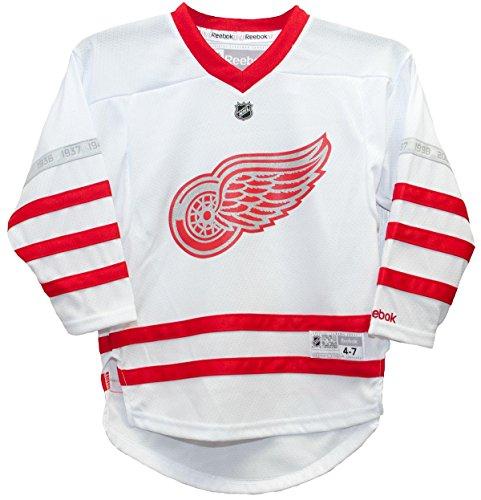 Reebok Detroit Red Wings Blank - Detroit Red Wings 2017 Centennial Child 4-7 Jersey