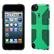 Speck Products CandyShell Grip Case for iPod Touch 5, Sour Apple Green/Black