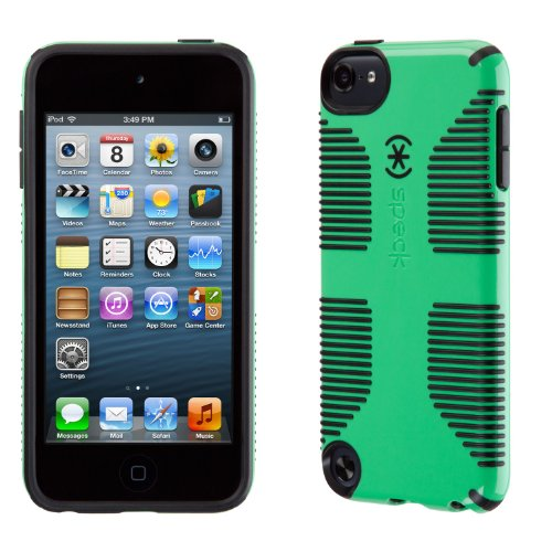 Speck Products CandyShell Grip Case for iPod Touch 5 (Sour Apple Green/Black) (Ipod Touch 3rd Generation Touch Screen Wont Work)