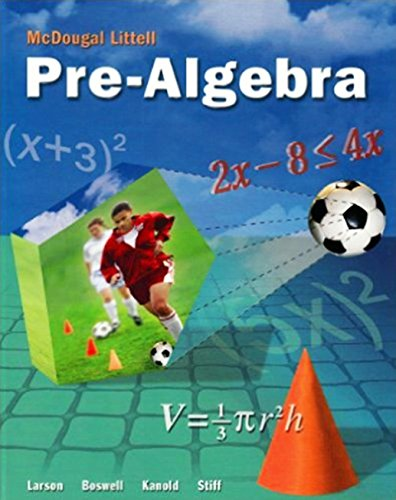McDougal Littell Pre-Algebra: Resource Book Chapter 5 pdf epub