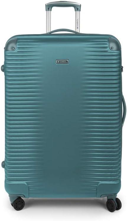 Gabol - Balance   Maletas de Viaje Grandes Rigidas de 52 x 76 x 28 cm con Capacidad para 85 L de Color Turquesa