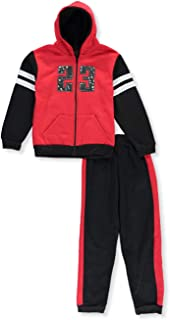 Quad Seven Boys' 23 Sherpa 2-Piece Sweatsuit Pants Set