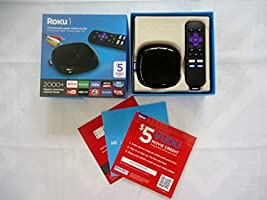 Roku 1 Streaming Player (Black) (Roku 2710RW) Special VUDU Edition with $5 VUDU credit