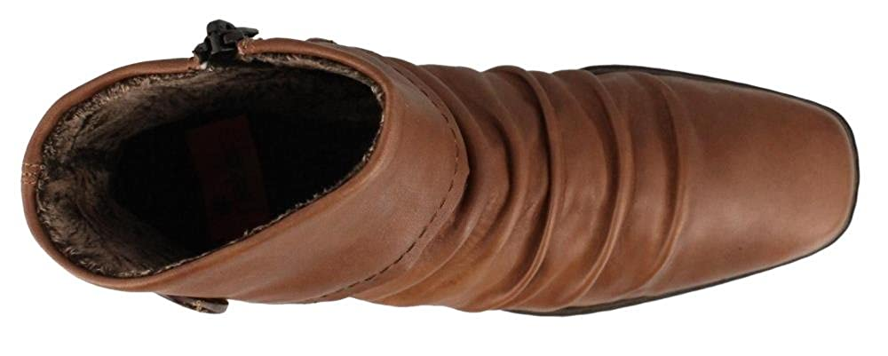 Rieker Kendra 63 Peanut Ladies Ankle Boot