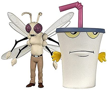 Amazon Com Adult Swim Master Shake And Mothmonsterman Action Figures Toys Games Master shake knocks out a driving test like a champ! adult swim master shake and mothmonsterman action figures