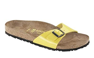Skate-Schuhe Trennschuhe wie kommt man Birkenstock Damen Sandalen Gelb Sun: Amazon.de: Schuhe ...