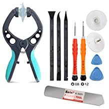 Kaisi ? Premium Opening Tool Set & Ultrathin Steel Pry Tool of Opening a Touch Screen or Shell, for Iphones,5s, 6s, 6plue, Ipads, Ipad Air, Ipods, Samsung Galaxy and More. (9pcs)