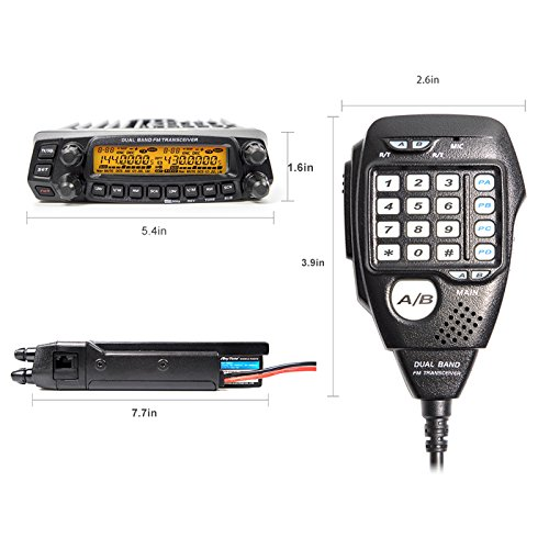 AnyTone Dual Band Transceiver VHF/UHF AT-5888UV Two Way and Amateur Radio by AnyTone (Image #2)