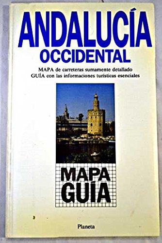 Andalucia Occidental Mapa Guia 9788408002635 Amazon Com Books