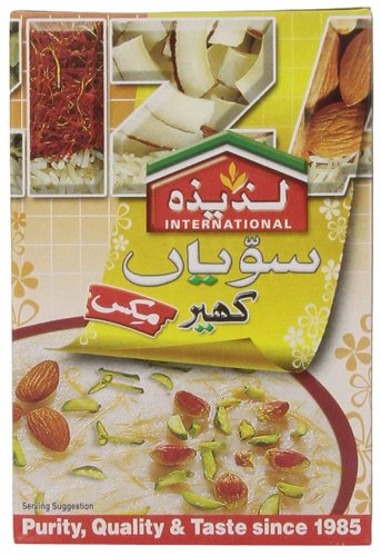 Laziza Vermicelli Kheer Mix (rice Pudding), 155-Gram Boxes (Pack of 6) (Pudding Mix Rice)