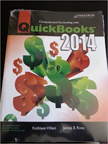 Computerized accounting with quickbooks r 2014 ebook with 140 day computerized accounting with quickbooks r 2014 ebook with 140 day trial cd code via mail kathleen villani james b rosa 9780763860257 amazon fandeluxe Image collections