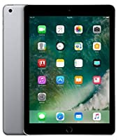 Apple iPad with WiFi + Cellular, 32GB, Space Gray (2017 Model) (Refurbished)