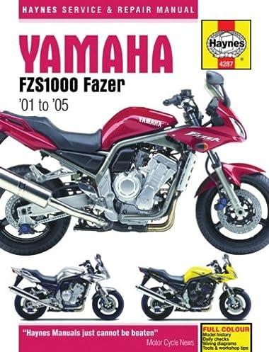yamaha fzs1000 fazer 01 to 05 haynes service repair manual rh amazon com Yamaha FZS Waverunner Yamaha FZS Top Speed