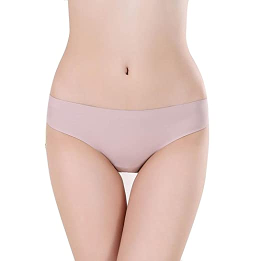 28c9a173f86d Leegor Women's Lace Ice Silk Seamless Hipster Panties Underwear Low-Rise  Briefs (XXXXL,