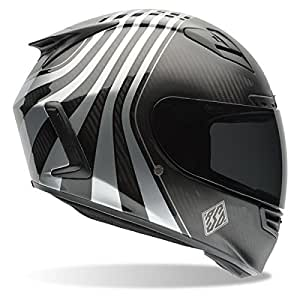 Bell Star Carbon RSD Technique Matte/Gloss Black Full Face Helmet - Large