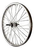 Sta-Tru Steel Single Speed Coaster Brake Hub Rear Wheel (20X1.75-Inch)