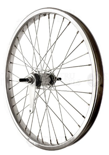 Sta-Tru Steel Single Speed Coaster Brake Hub Rear Wheel (20X1.75-Inch) by Sta Tru