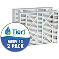 Tier 1 DPFW16X25X5M13DLX Lennox X0583 Comparable Air Filter - 2Pack