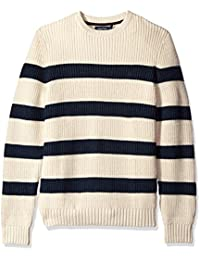 Men's Breton Long Sleeve Stripe Sweater