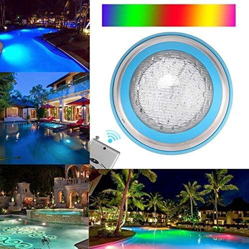 Swimmingpool-Licht, AC12V 35W 360PCS LED Unterwasserpool-Lampe mit Fernsteuerungsgebrauch für Brunnen, Fischteich, Pool, usw.