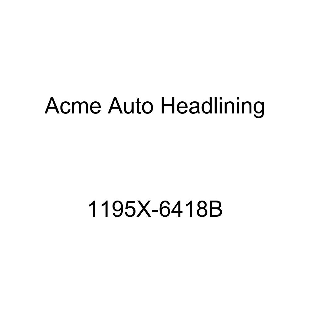 1959-60 Buick Invicta /& Lesabre 4 Door Wagon 9 Bows Acme Auto Headlining 1195X-6418B White Replacement Headliner