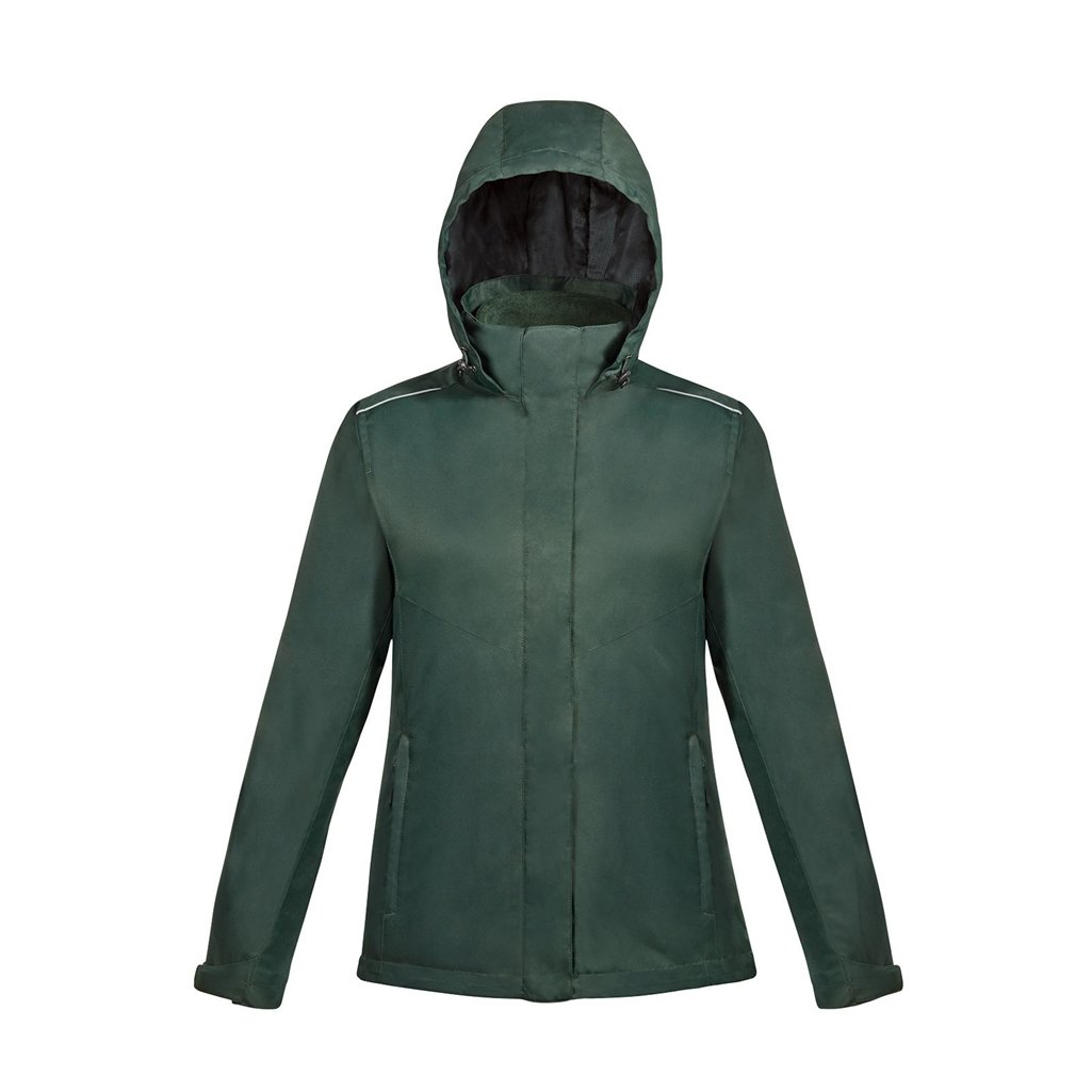 Ash City Ladies Core 365 Region 3-In-1 Jacket with Fleece Liner (X-Small, Forest Green)