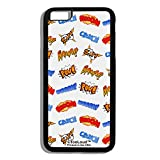 TooLoud Onomatopoeia All Over Print Black iPhone 6 Plus Cover All Over Print