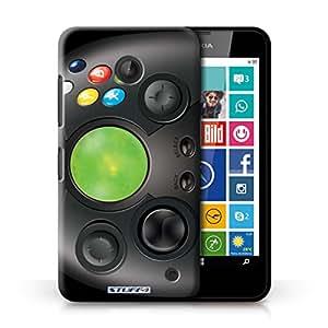 Kobalt® protector duro de nuevo caso / cubierta para el Nokia Lumia 630 | Xbox Diseño | Juegos colección consola colección