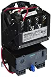 Siemens 14DUB32AF Heavy Duty Motor Starter, Solid State Overload, Auto/Manual Reset, Open Type, Standard Width Enclosure, 3 Phase, 3 Pole, 1 NEMA Size, 0.75-3.4A Amp Range, A Frame Size, 120 Separate Control 60Hz Coil Voltage