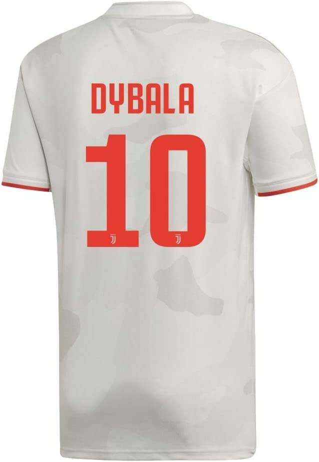 adidas Fu/ßball Juventus Turin FC Away Trikot 2019 2020 Ausw/ärtstrikot Herren Kinder Dybala 10
